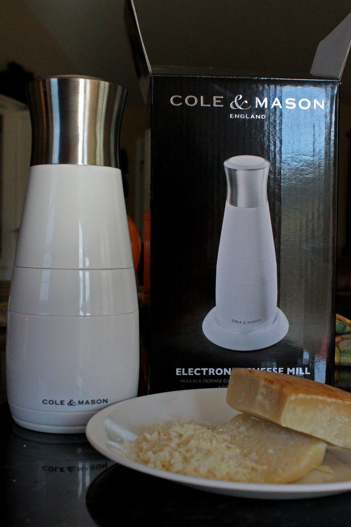 Cole & Mason electronic cheese mill