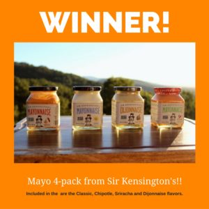Sir Kensington's Mayo 4-Pack Giveaway ~ Winner Announcement!