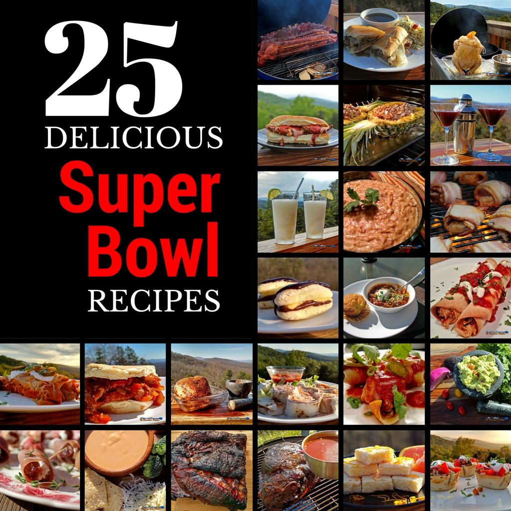 25 Delicious Super Bowl Recipes (2017)