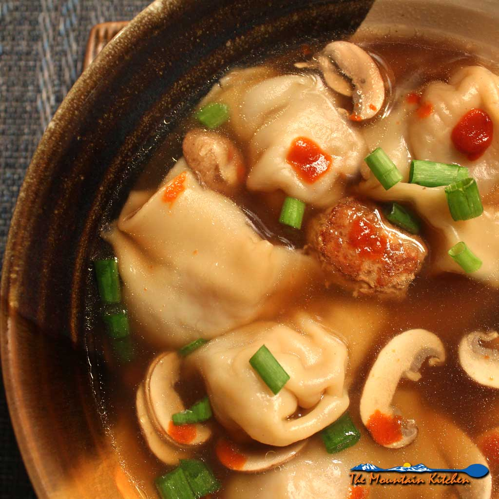 Wonton Soup {Revisited from February 2014