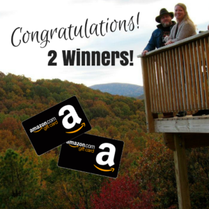Congratulations! 2 Winners!! {$50 Amazon Gift Card Giveaway Follow-Up