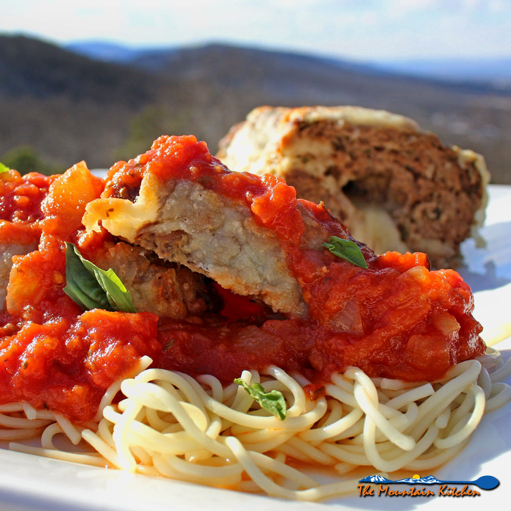 Wow! Take meatloaf to a whole new level, by adding Italian flavors to traditional home style meatloaf, by making this tender and delicious Italian Meatloaf. | TheMountainKitchen.com