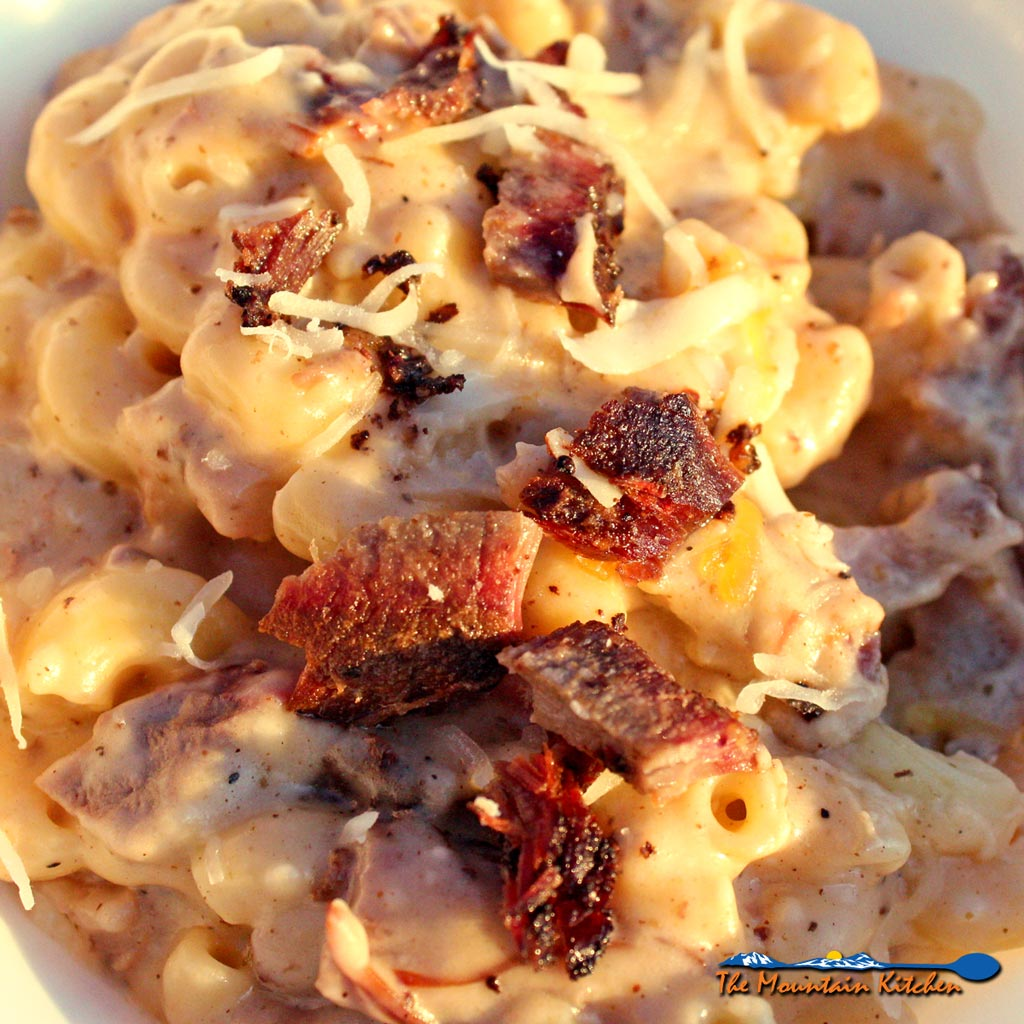 Smoked Beef Brisket Skillet Mac and Cheese With ...