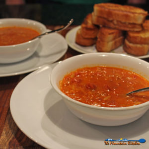 Ina's Tomato Orzo Soup With Grilled Cheeses {A Meatless Monday Recipe