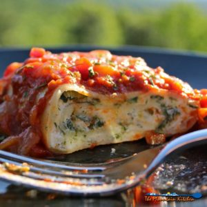 Spinach Lasagna Rolls {A Meatless Monday Recipe
