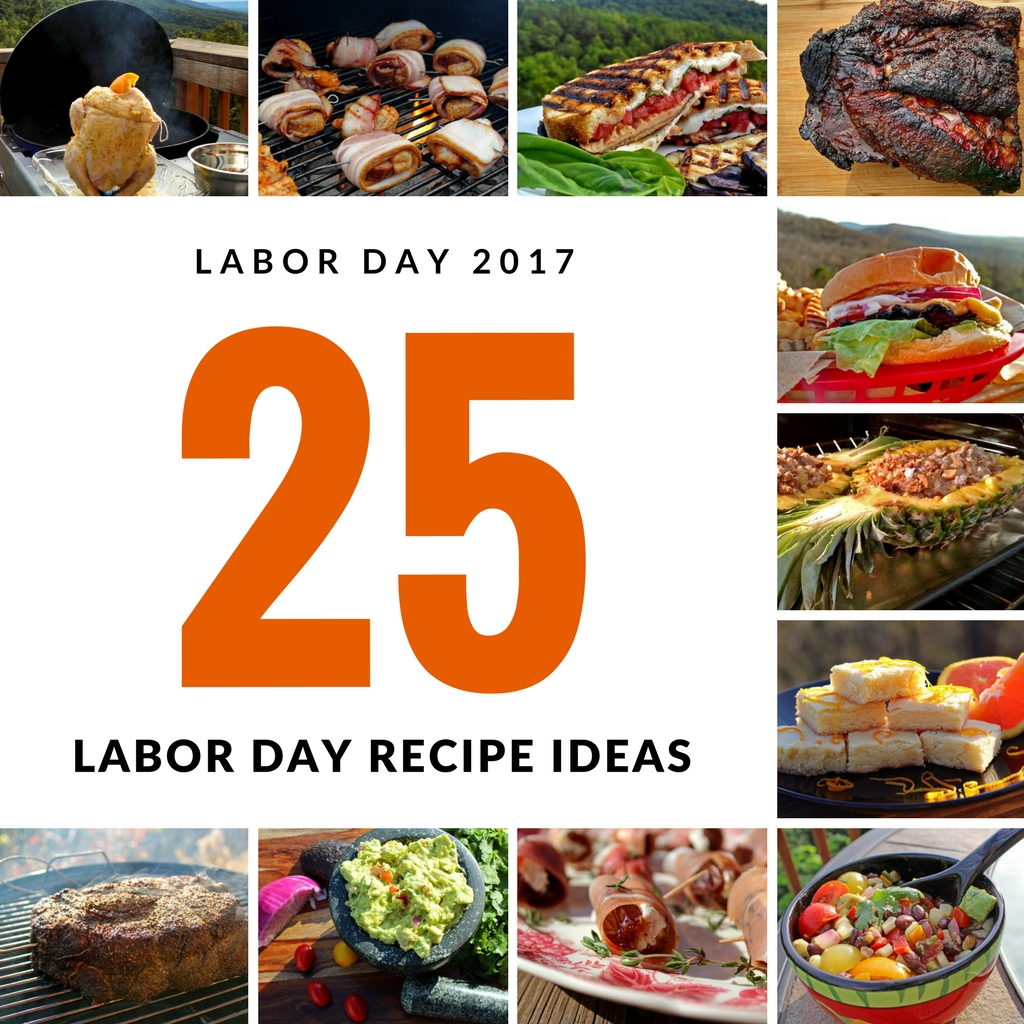 5 crowd pleasing Labor Day recipe ideas cover appetizers, grilled meat, side dishes desserts and even some vegetarian recipes for Meatless Monday. Have fun!