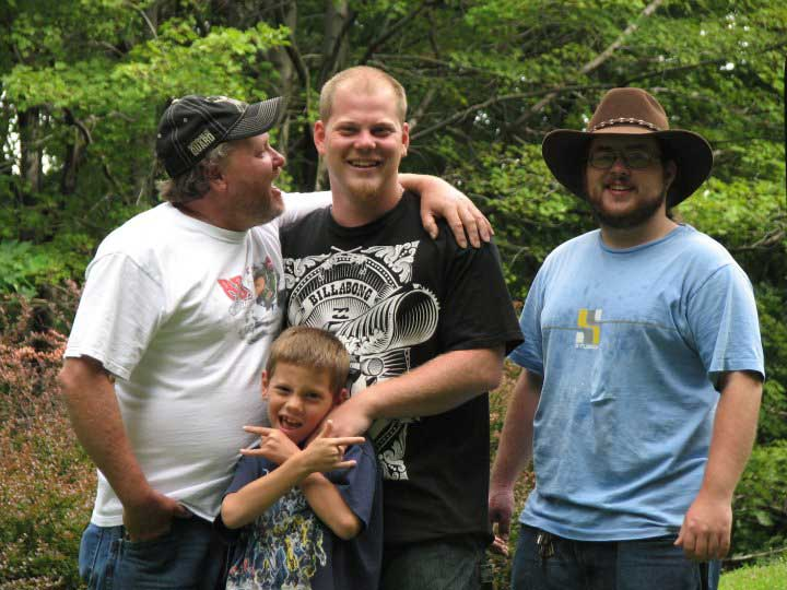 David, Dustin, Brandon and Seth