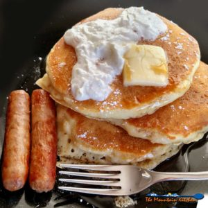 Fluffy Lemon Zest Buttermilk Pancakes