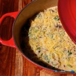 kale wild rice and mushroom casserole