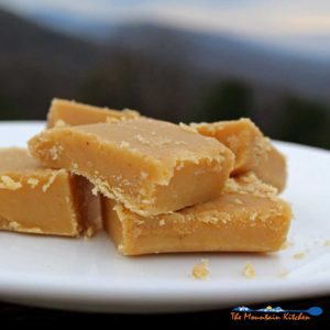 Mama Rosa's Christmas Peanut Butter Fudge