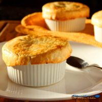 These healthy mushroom pot pies have the comforts of traditional pot pies without all the calories.Mushroomsare the star of the show in these savory healthy mushroom pot pies, with vegetable filling smothered in a cauliflower sauce, with a tender flaky crust. Comfort food made healthy! | TheMountainKitchen.com