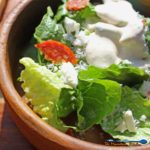 Garlic, lemon juice, parmesan cheese, and anchovies are just three of the classic bold flavor ingredients that blend together into this thick, creamy Caesar dressing recipe, packed with big bold flavor. It's creamy, smooth and will turn anyone into a Caesar salad fan! | TheMountainKitchen.com