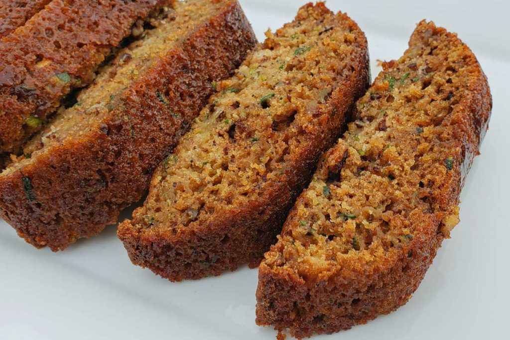 The Loder's Zucchini bread is easy to make, perfectly spiced with the perfect balance of sweetness and spice. This zucchini bread is deliciously addictive!