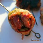 Bacon wrapped dove poppers a great way to celebrate the hunt! A great balance of grilled fatty bacon, tangy chilies, savory-sweet garlic, and smoky meat.