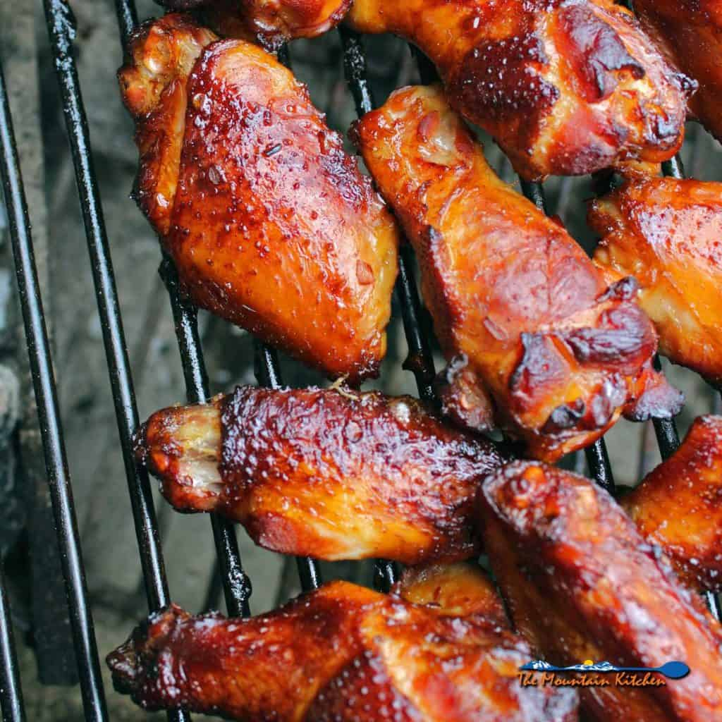 Applewood smoked chicken wings take on flavor from a nice smoke over applewood coals brined in all natural ingredients. Tons of flavor in these Naked Wings!
