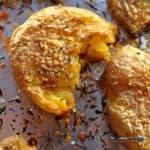 parmesan smashed potatoes