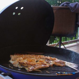 Grilled Rockfish (Striped Bass)