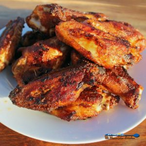 Baked Chicken Wings With Dry Rub