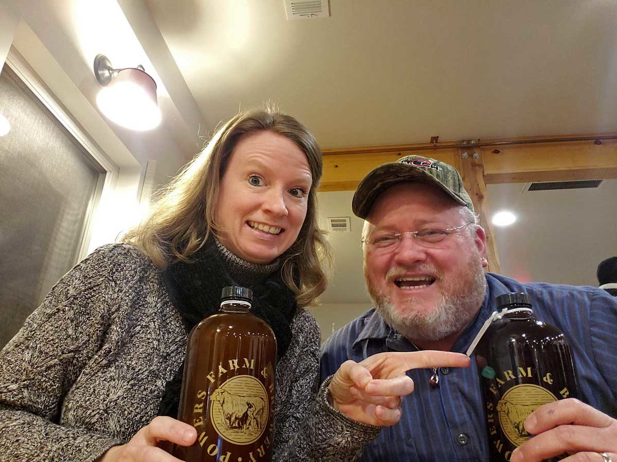 Today's edition of Field Trip Friday is about our visits to Powers Farm & Brewery, and Black Bear Bistro & Brick Oven. A Northern VA Food & Beverage Review!