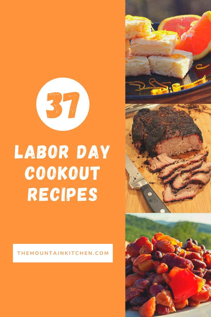 Labor Day Cookout Recipes from appetizers, grilled meat, side dishes, desserts to vegetarian recipes for Meatless Monday. Eat well and enjoy!