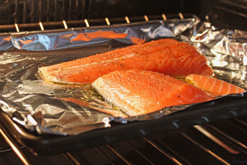 baking fish fillets in oven