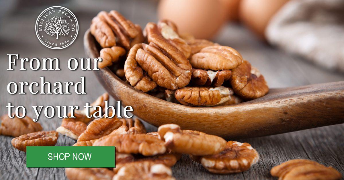 Millican Pecan Company Ad