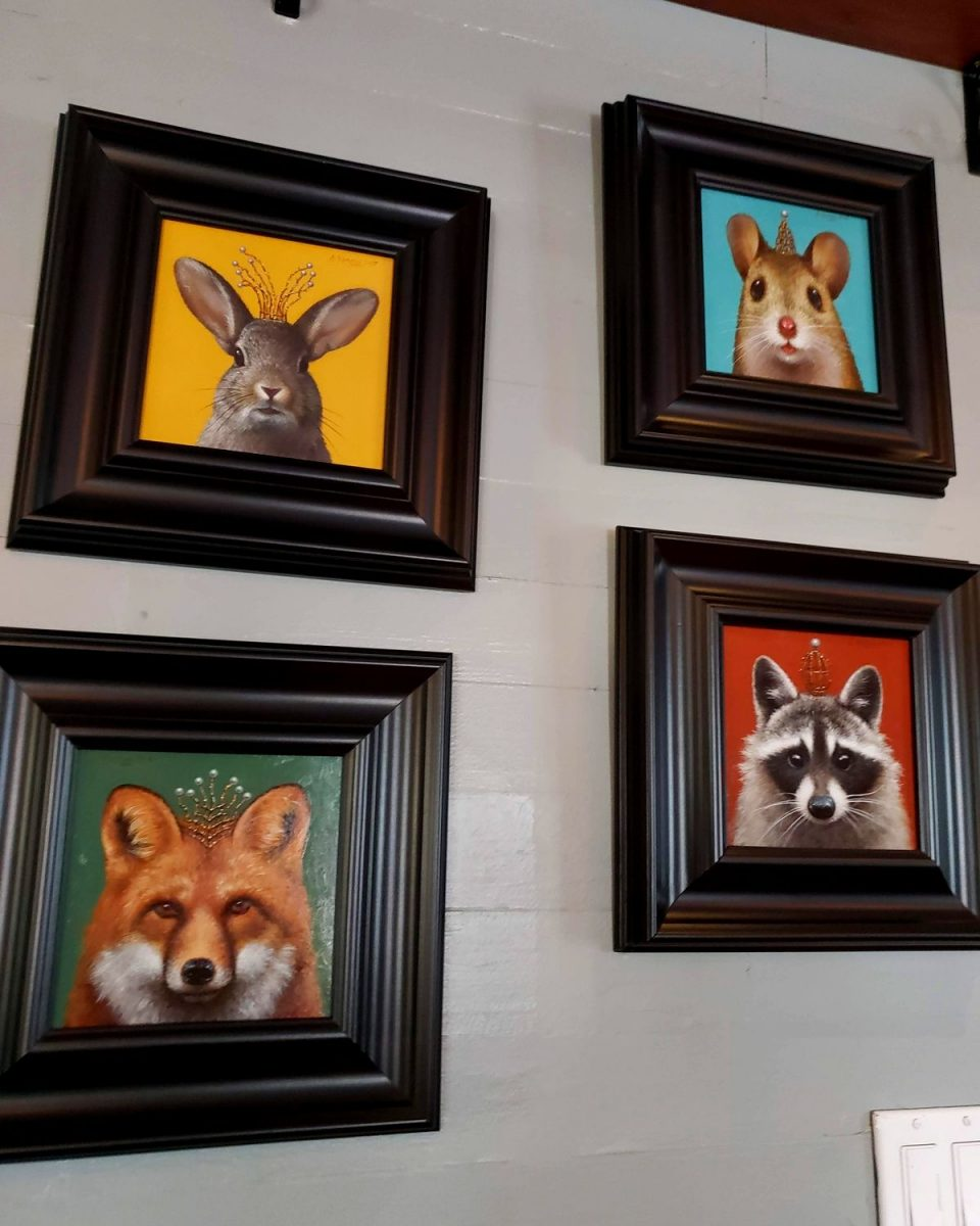 artwork at The Front Porch