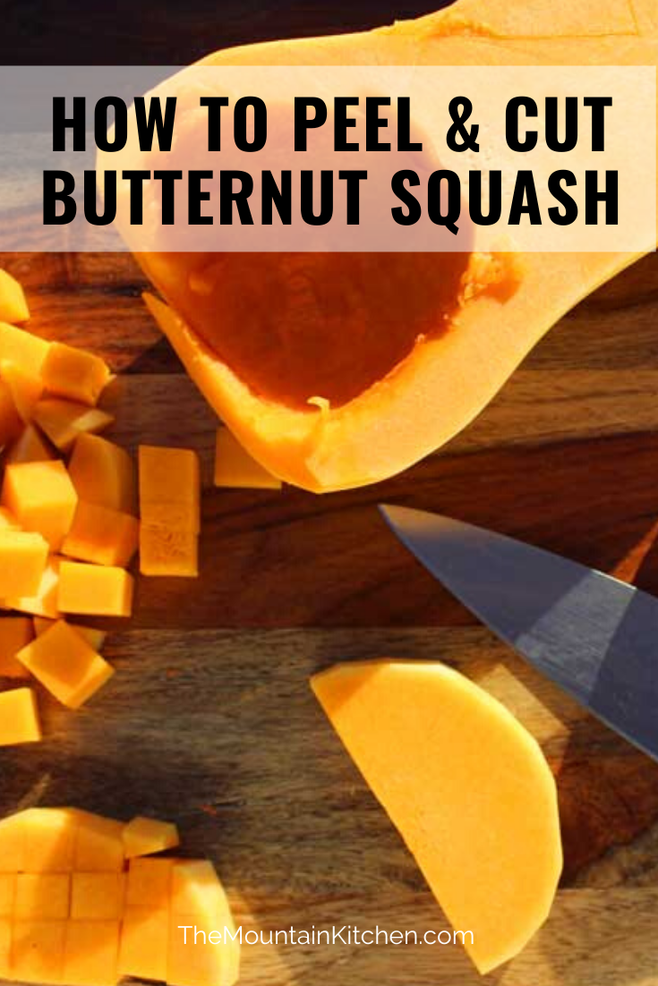 Do you know how to cut butternut squash? Cutting into one of these things can be quite a chore! Here are the steps on how to cut butternut squash easily.