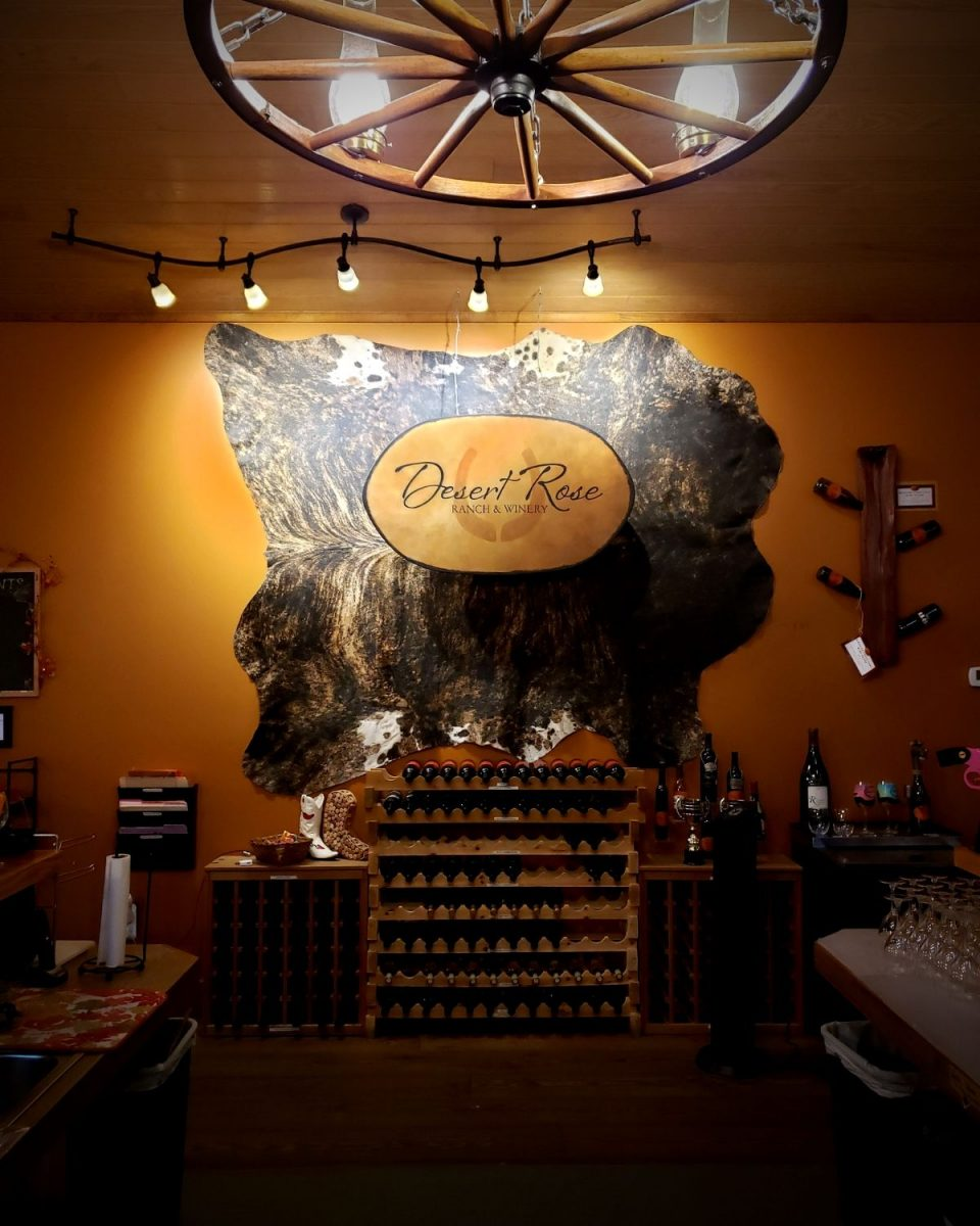Desert Rose Ranch & Winery Tasting Room