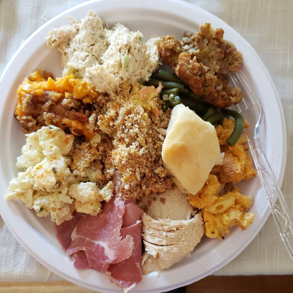 my Thanksgiving plate