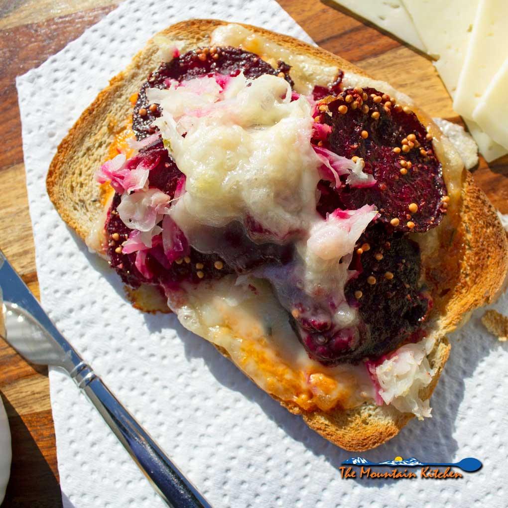 Beet Reuben Sandwich {A Meatless Monday Recipe