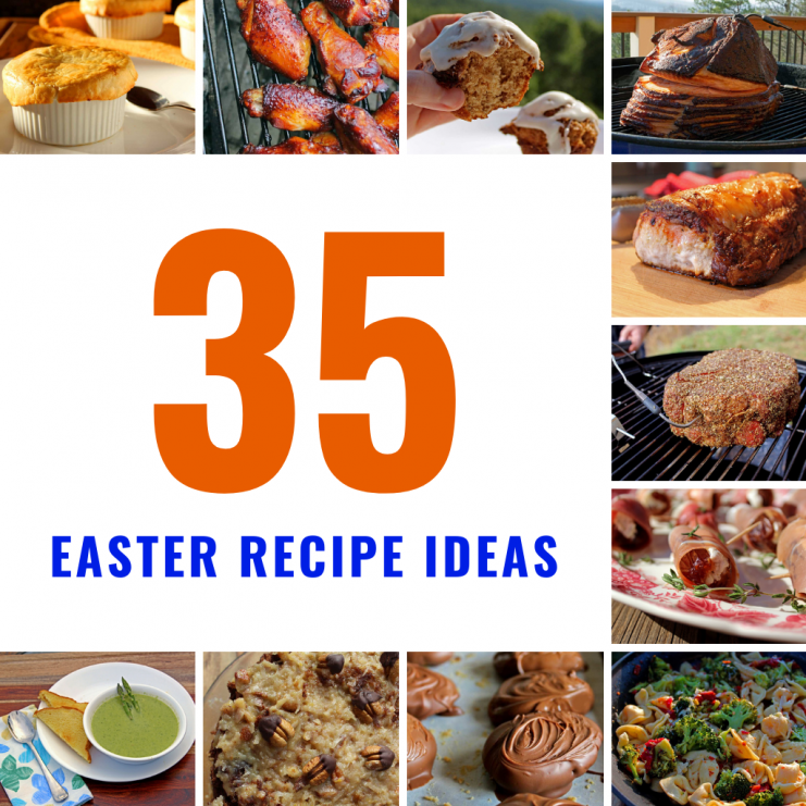 Easter recipe ideas collage