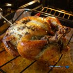 garlic herb-butter roasted chicken