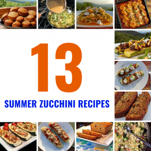 13 Delicious Summer Zucchini Recipes