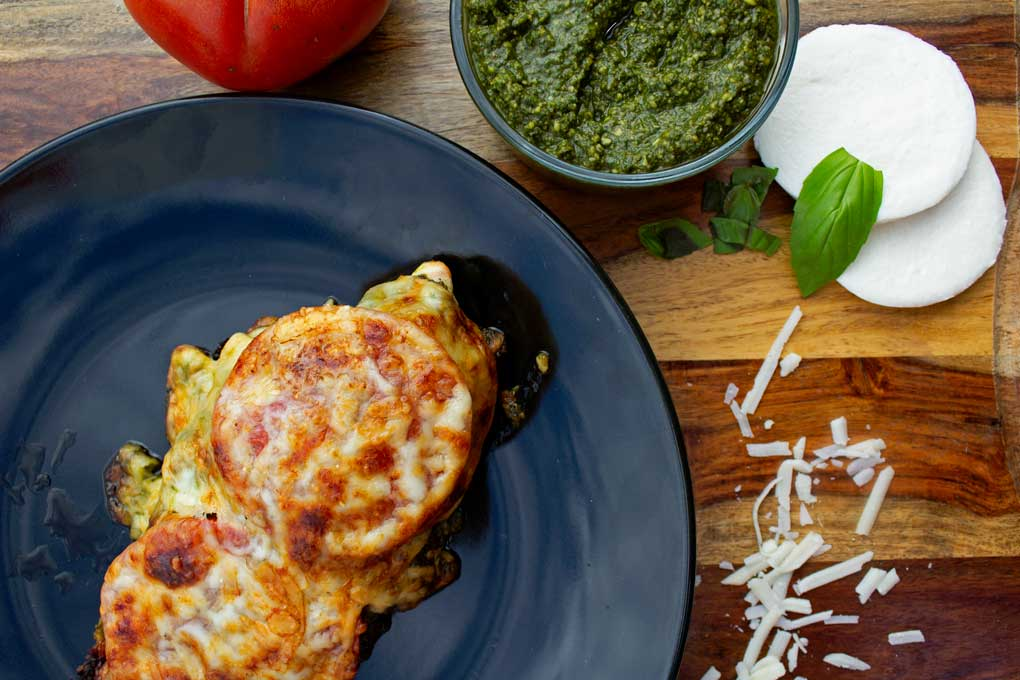 pesto baked chicken breasts