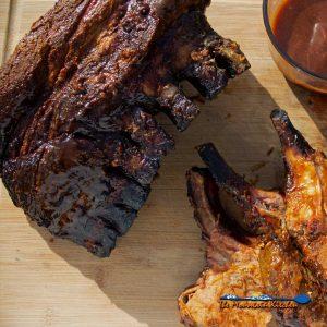 Smoked Pork Crown Roast